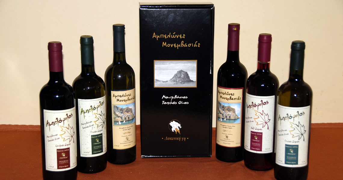 Liotrivi vineyards' wines & products