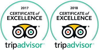 TripAdvisor Certificates Of Excellence